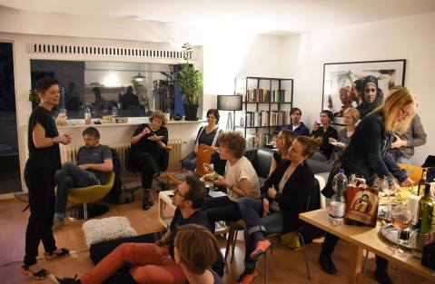 Private Screening of Szabocs Hajdú´s film: Its Not The Time of My Life, Berlin 2017
