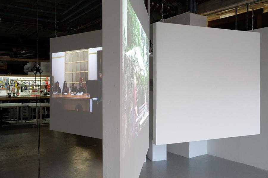 Taking Time, exhibition view, ZÖNOTÉKA 2017, photo by Zsolt Vásárhelyi