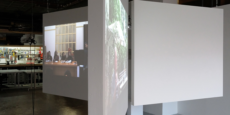 Taking Time, exhibition view, ZÖNOTÉKA 2017, photo by Zsolt Vásárhelyi